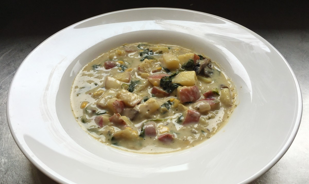 Mushroom and Corn Chowder